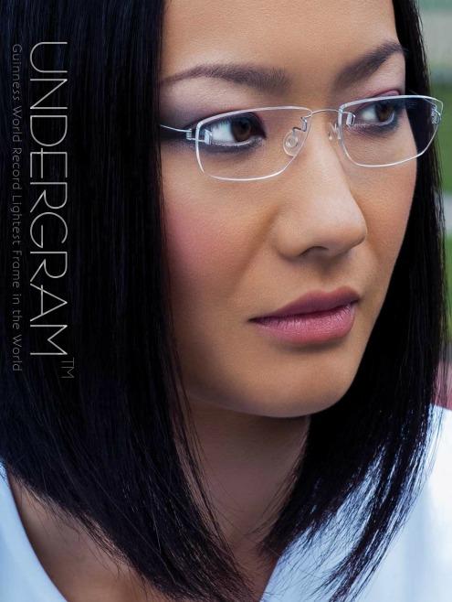 Rimless Glasses for Men & Women Titanium Rimless ...