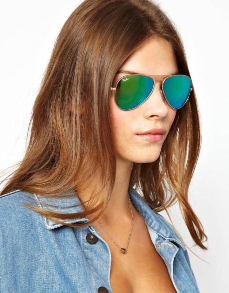 Ray Ban Green Mirror