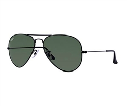 Ray Ban-Aviator in black RB3025
