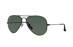 Ray Ban-Aviator large ll in black RB3026