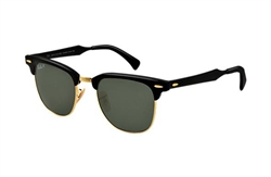 Ray Ban Clubmaster Aluminum RB3507 black
