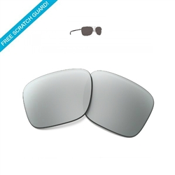 Sunglass lenses mirror (Progressive) in metal frames