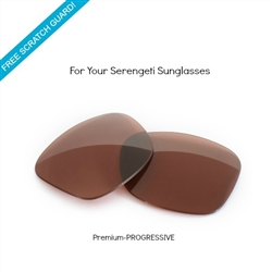 Sunglass lenses (Progressive) - Serengeti