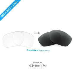 transitions hi index lenses 1.74
