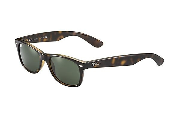 ray ban new wayfarer sunglasses dark tortoise