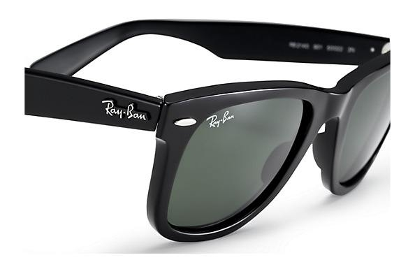 rb2140  Ray Ban Original Wayfarer RB2140 Sunglasses Black
