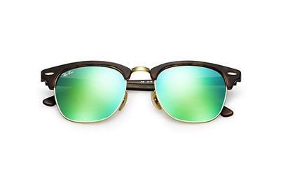 Ray Ban Clubmaster Flash RB3016 tortoise