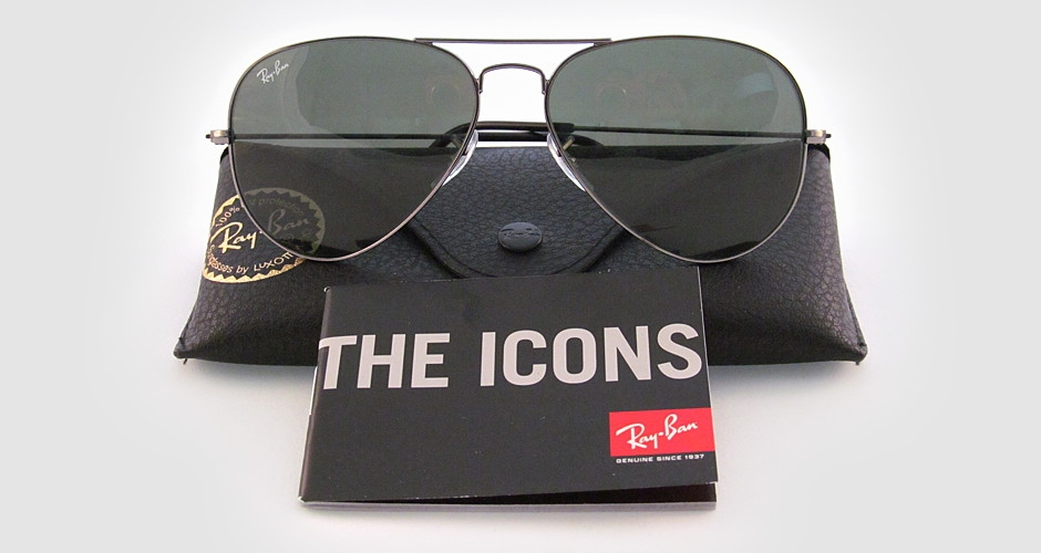 ray ban 3025 w0879 gunmetal sunglasses