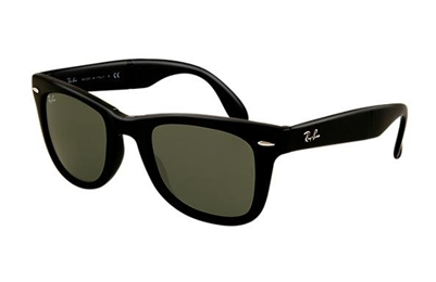 Ray Ban-Folding Wayfarer in black RB4105