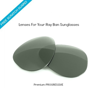 Sunglass lenses (Progressive) - Ray-Ban