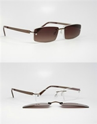 sun clip-ons with prescription lenses
