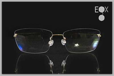 Rimless glasses Undergram 389 in gold