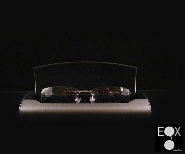 Lightest glasses, Undergram Eyewear-450-gold | Titanium Rimless Eyewear