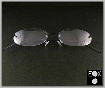 Rimless glasses-Undergram 608 in black
