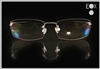 Rimless glasses-Undergram 661 in gold