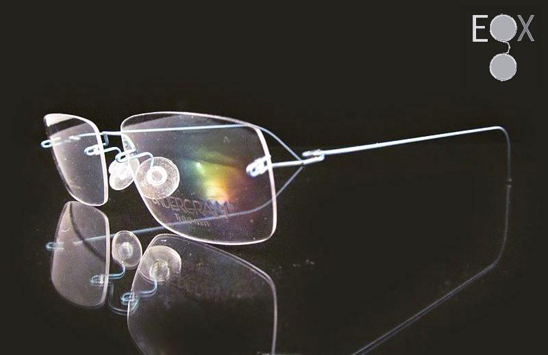 d02cbb26d35c Lightest glasses, Undergram Eyewear-810-blue | Titanium Rimless Eyewear